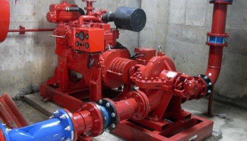 Fire pump Ebara