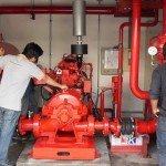 Cung cấp máy bơm Ebara cho Nhà máy cơ khí đóng tàu Nghệ An